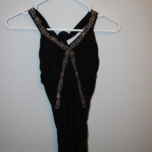 Sexy Black sleevelss top